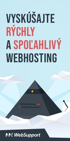 Hosting Websupport.sk